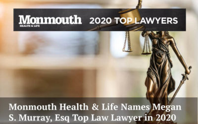 Divorce Attorney Megan S. Murray Named Monmouth Health & Life Top Lawyer For 2020